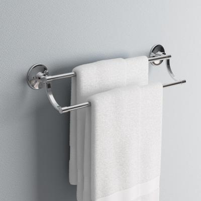 Archer 25 in. Double Towel Bar in Polished Chrome