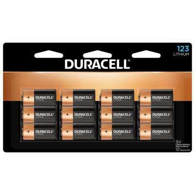 Duracell - 123 High Power Lithium Batteries - 12 count