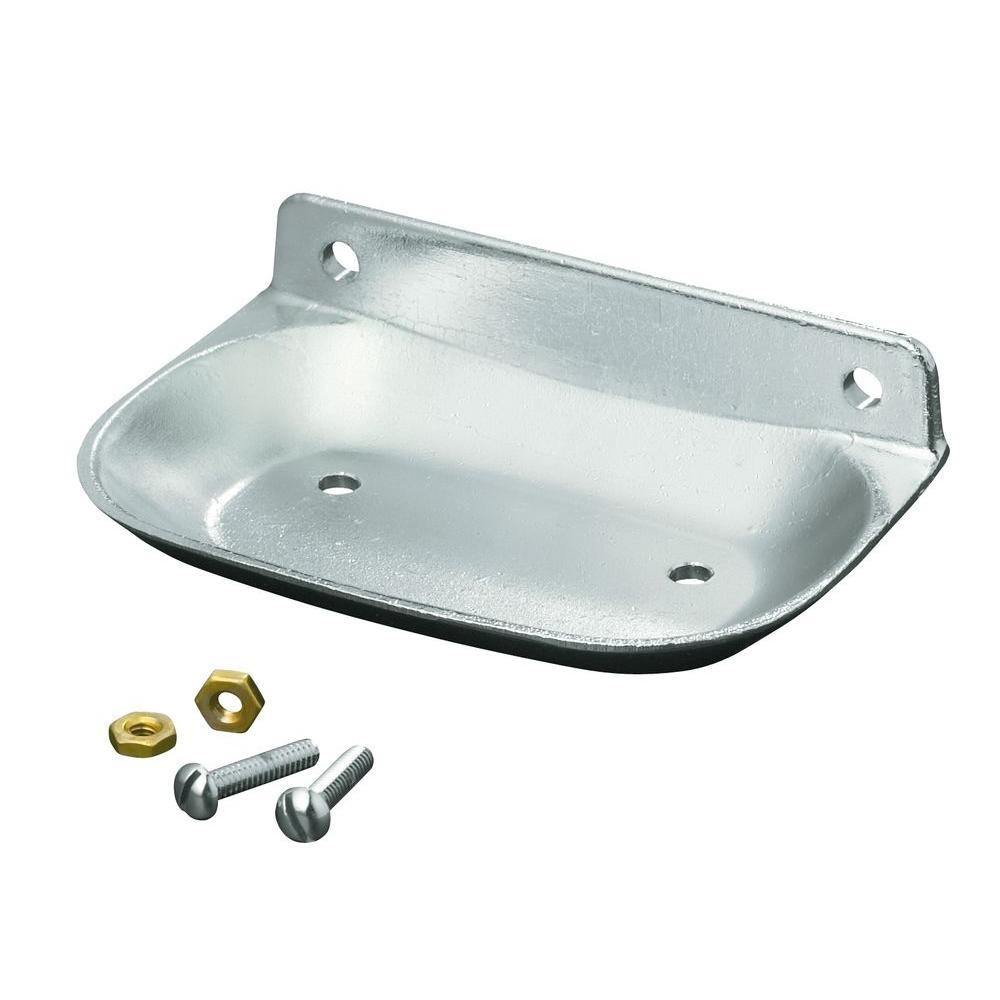 Kohler Brockway Wall Mount Soap Dish In Bright Chrome