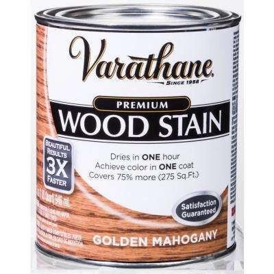 1 qt. Golden Mahogany Premium Fast Dry Interior Wood Stain (2-Pack)