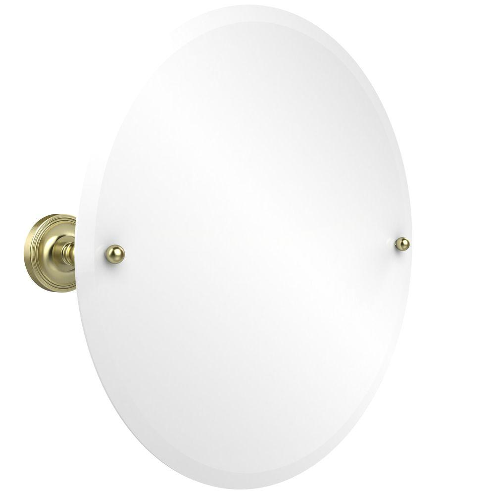 Prestige Regal Collection 22 in. x 22 in. Frameless Round Single