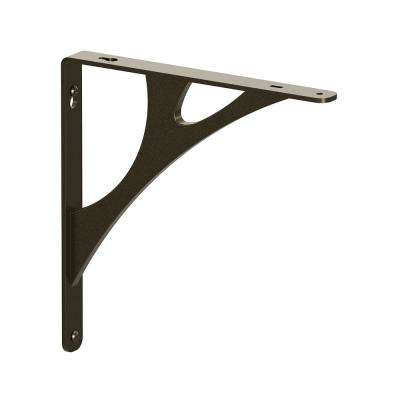 Manhattan Steel 10 in. D x 1 in. W x 10 in. H Bronze 500 lbs. Decorative Shelf Bracket