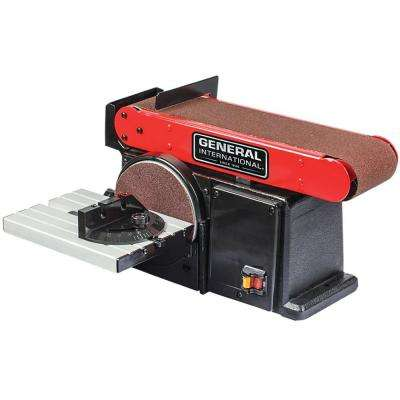 4 in. x 36 in. Belt with 6 in. Disc Sander