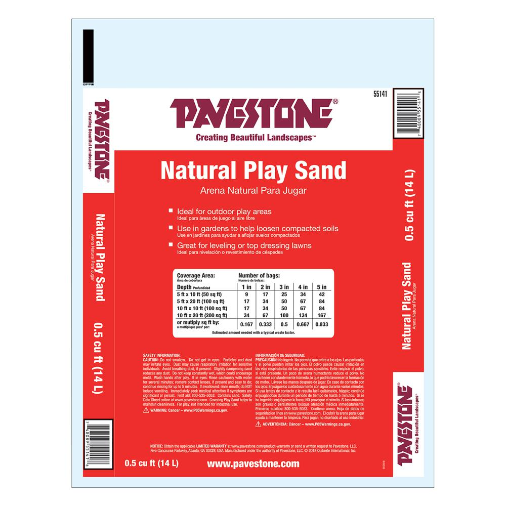 Pavestone 0 5 Cu Ft All Purpose Play Sand 55141 The Home Depot