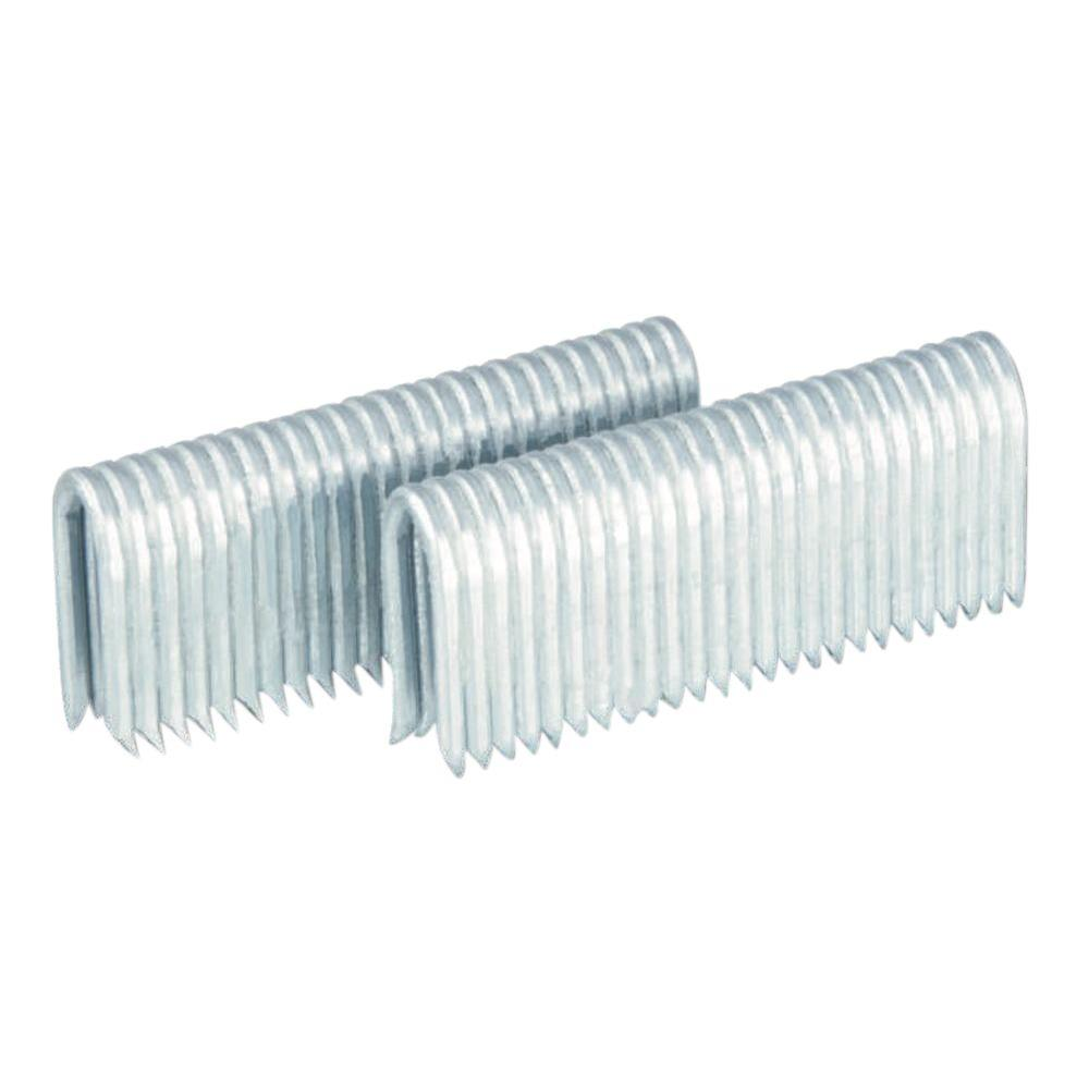 Pneumatic 1-3/4 in. 9-Gauge Barbed Fencing Staples (1000-Pack)