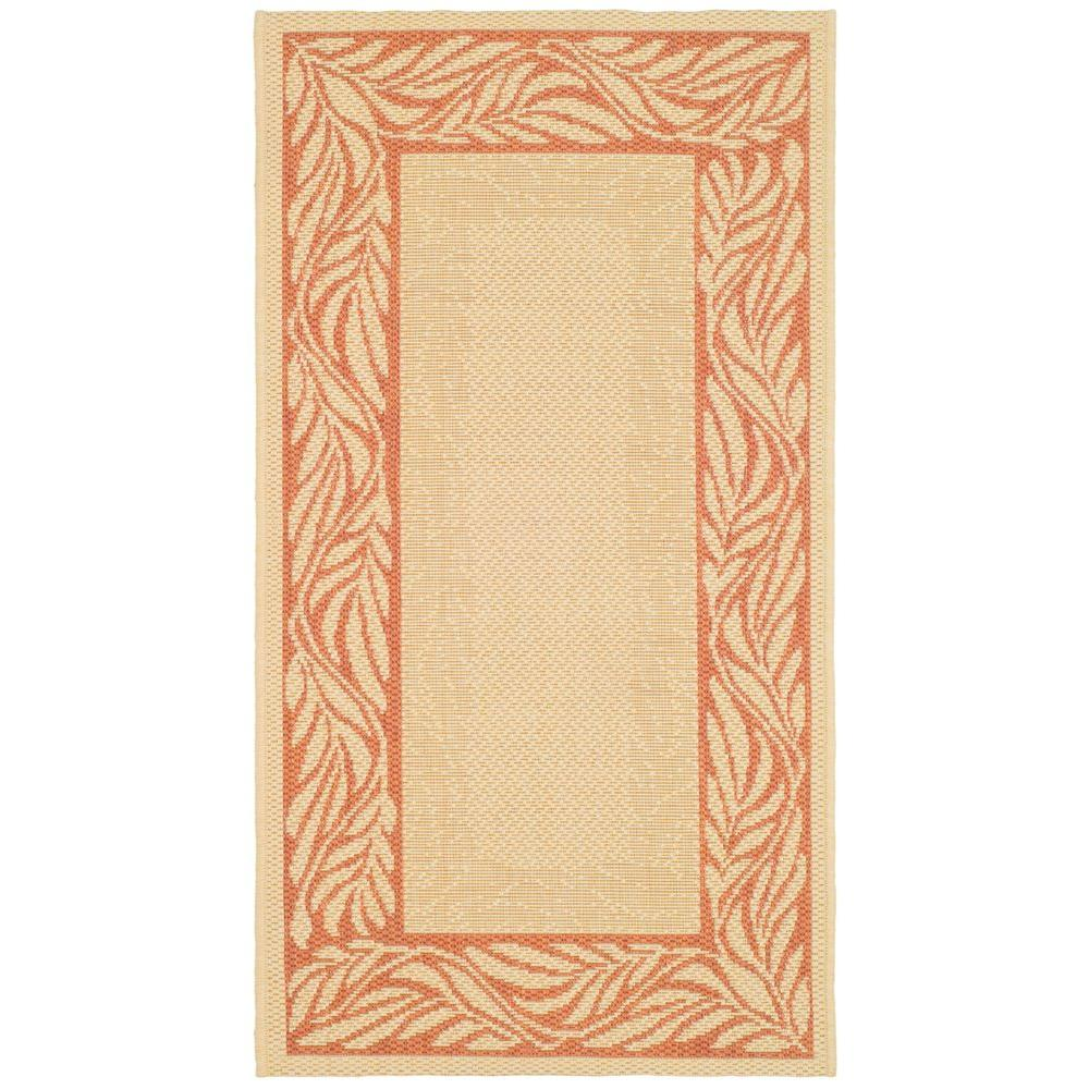 home depot outdoor rugs safavieh courtyard terracotta 2 ft x 3 ft 7 in 28790