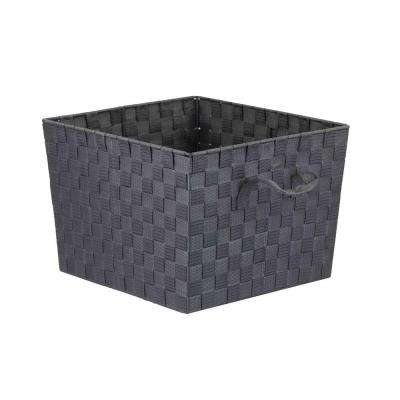 10 in. x 10 in. Gray Non Stackable Bin
