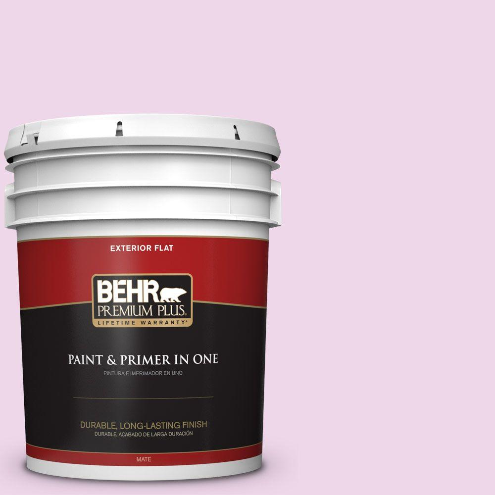 5-gal. #P110-1 All Made Up Flat Exterior Paint
