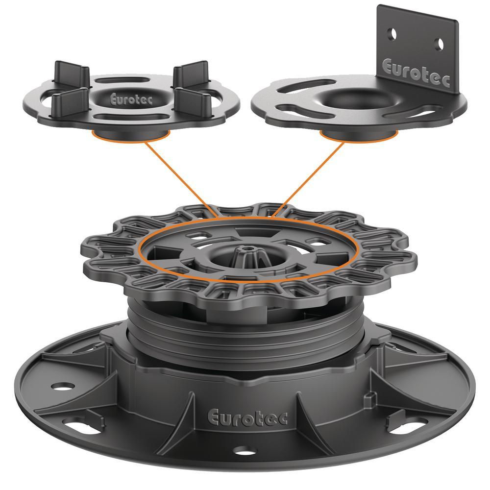 Plastic Adjustable Pedestal PRO S (10-Pieces /  Box)
