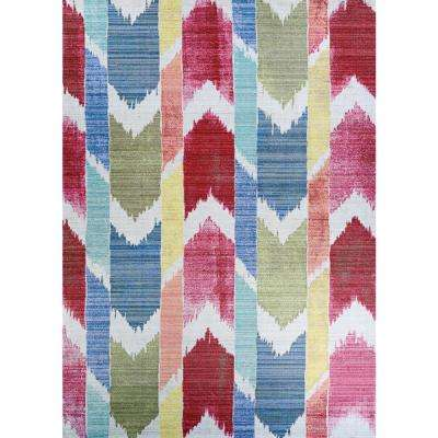 Xanadu Coyoacan Mestizo 6 ft. x 9 ft. Indoor/Outdoor Area Rug