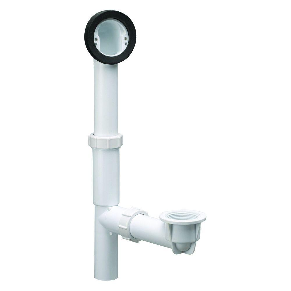 Design House PVC Rough-In Bath Drain Kit with Overflow-522458 - The ...