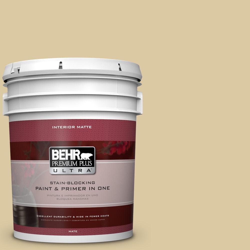 5 gal. #380F-4 Ground Ginger Flat/Matte Interior Paint