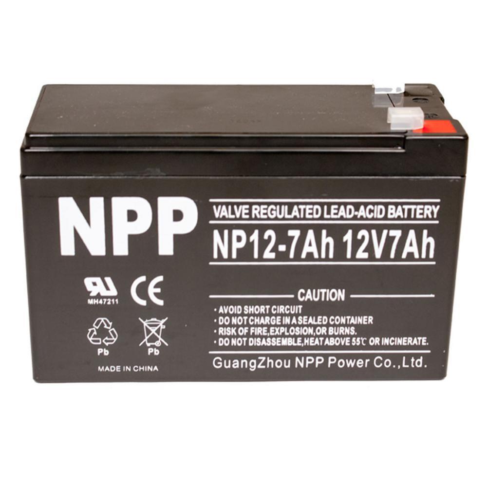 12-Volt 7.0 Ah Sealed Gel Battery