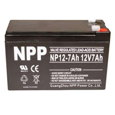 12-Volt 7.0 Ah Sealed Gel Battery