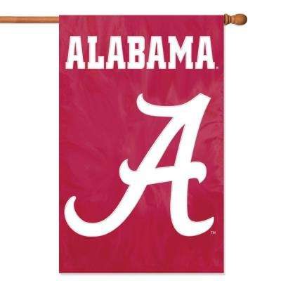 Alabama Crimson Tide Applique Banner Flag