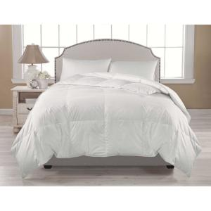 Premium Warmth White King Down Comforter by