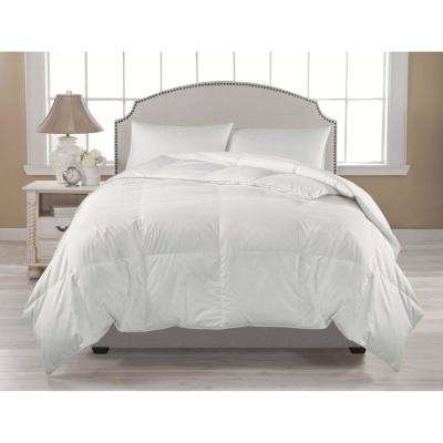 Premium Warmth White Full and Queen Down Comforter