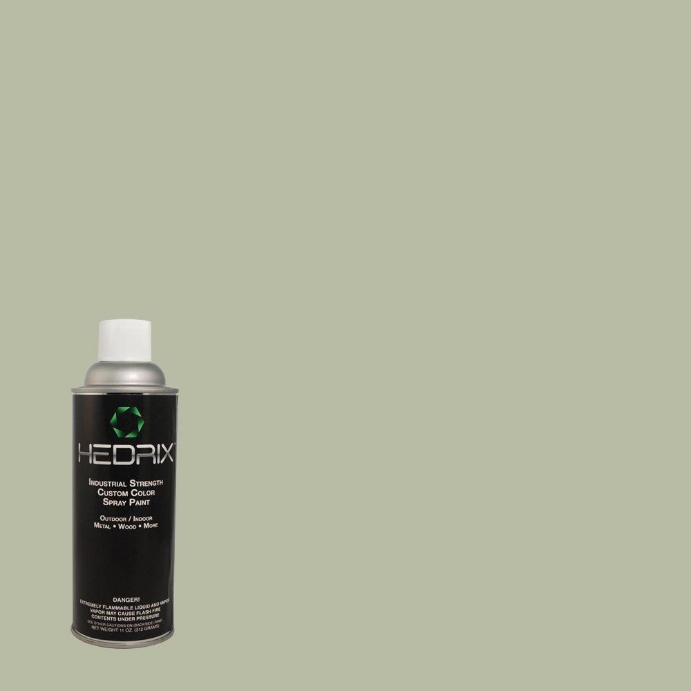 Hedrix 11 oz. Match of Restful 400F-4 Gloss Custom Spray Paint (2-Pack)