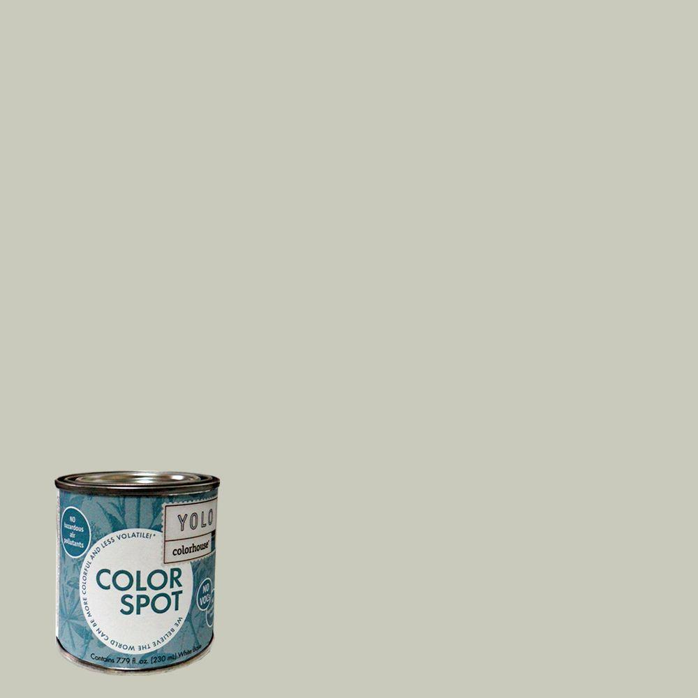 YOLO Colorhouse 8 oz. Stone .04 ColorSpot Eggshell Interior Paint Sample-DISCONTINUED