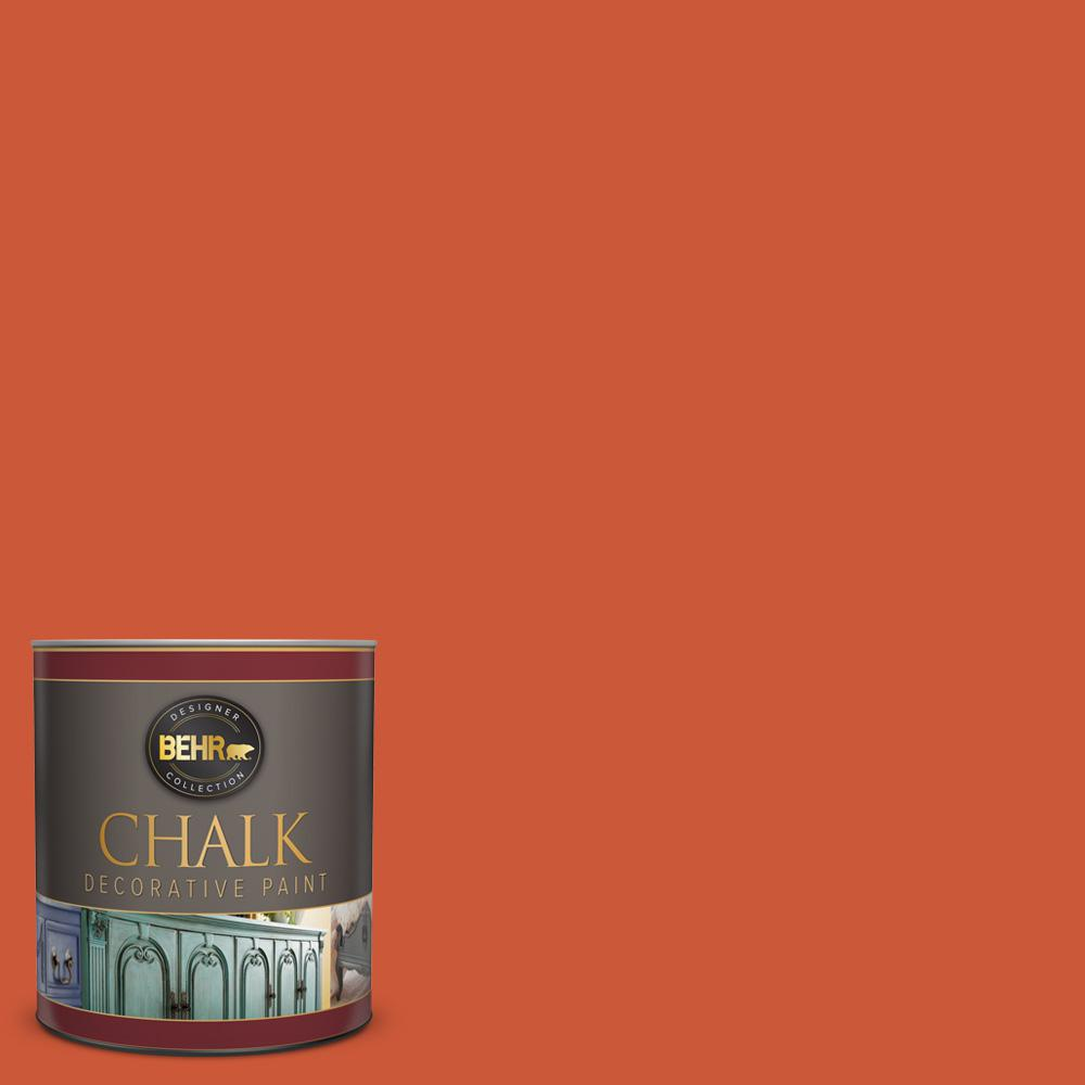 BEHR 1-qt. #BCP04 Carousel Red Interior Chalk Finish Paint