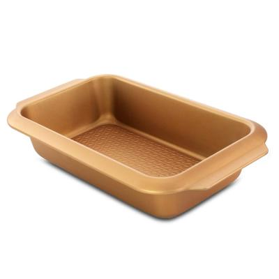 Country Kitchen Copper Carbon Steel Loaf Pan