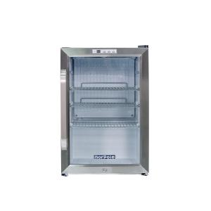 25 cu ft countertop in stainless steel - Glass Front Mini Fridge