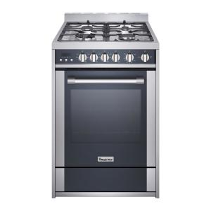 24 in 27 cu ft gas range with convection in stainless steel magic chef - Magic Chef Oven