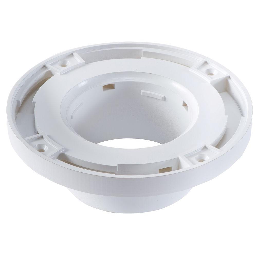Barracuda Brackets 4 inch x 3 inch PVC Watertight Toilet Flange by Barracuda Brackets