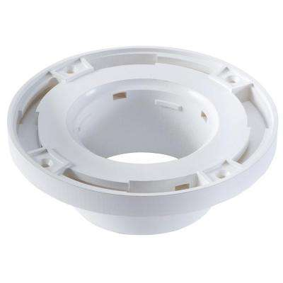 4 in. x 3 in. PVC Watertight Toilet Flange
