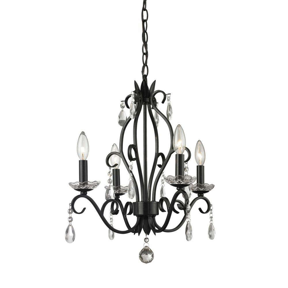 filament design queen 4-light matte black chandelier-cli-jb-037012