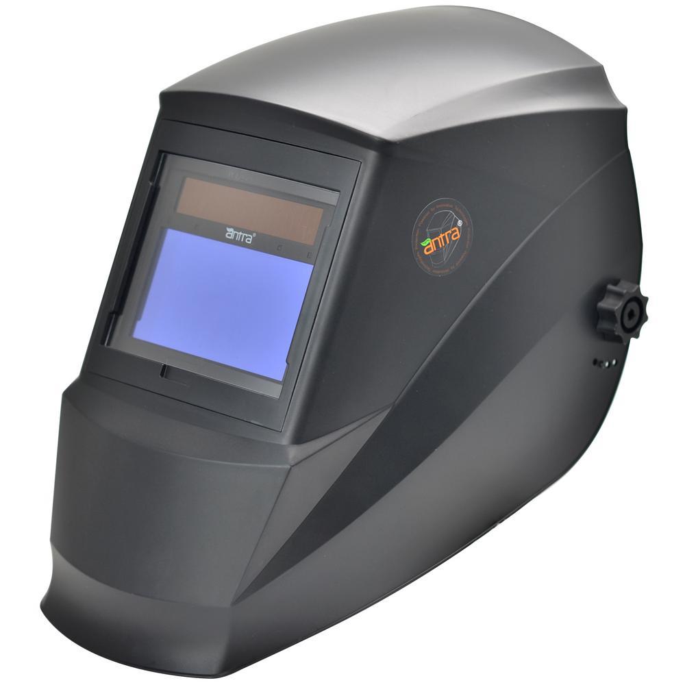 3.86 in. x 2.09 in. Solar Power Auto Darkening Welding Helmet with Large Viewing Size