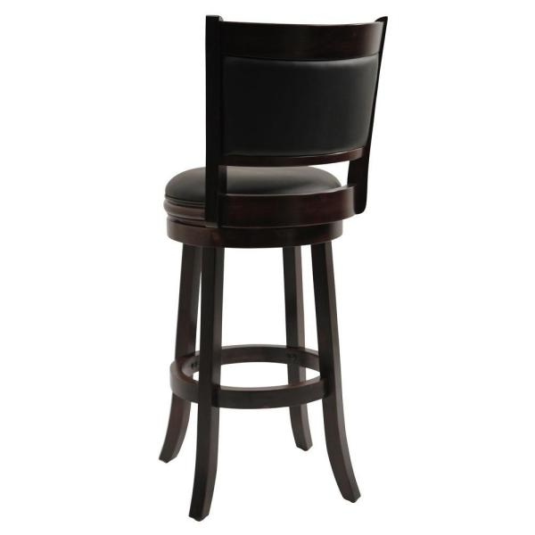 Strange Boraam Augusta 29 In Cappuccino Swivel Cushioned Bar Stool Gmtry Best Dining Table And Chair Ideas Images Gmtryco