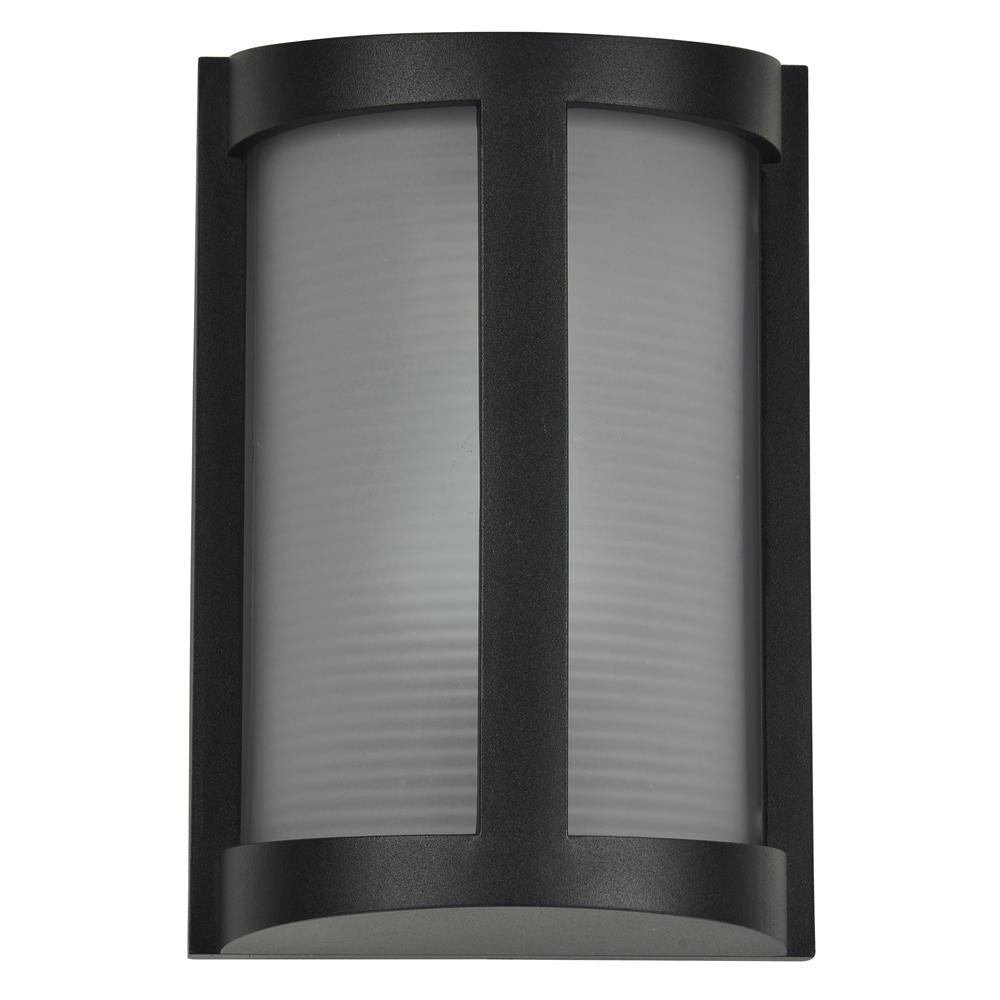 Access Lighting Pier Medium 1-Light Black LED Outdoor Wall Mount Sconce