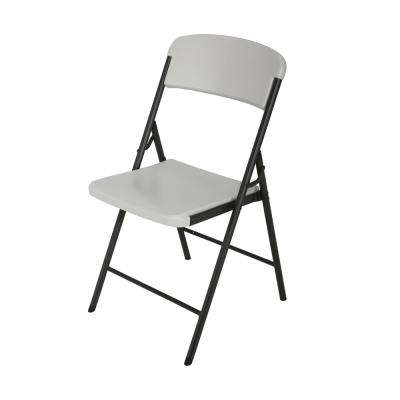 Almond Folding Chair  sc 1 st  Home Depot & Folding Chair - Folding Tables u0026 Chairs - Kitchen u0026 Dining Room ...