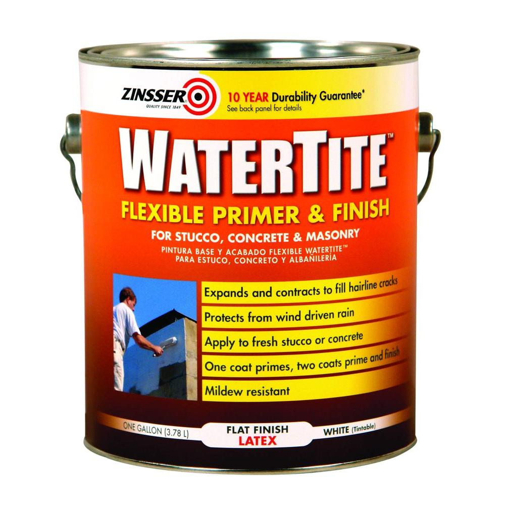 Zinsser 1 gal. Watertite Flexible Primer and Finish Paint (2-Pack)