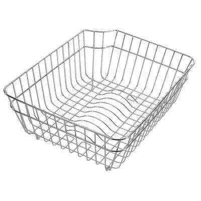 Basket for Kitchen Sinks in Stainless Steel