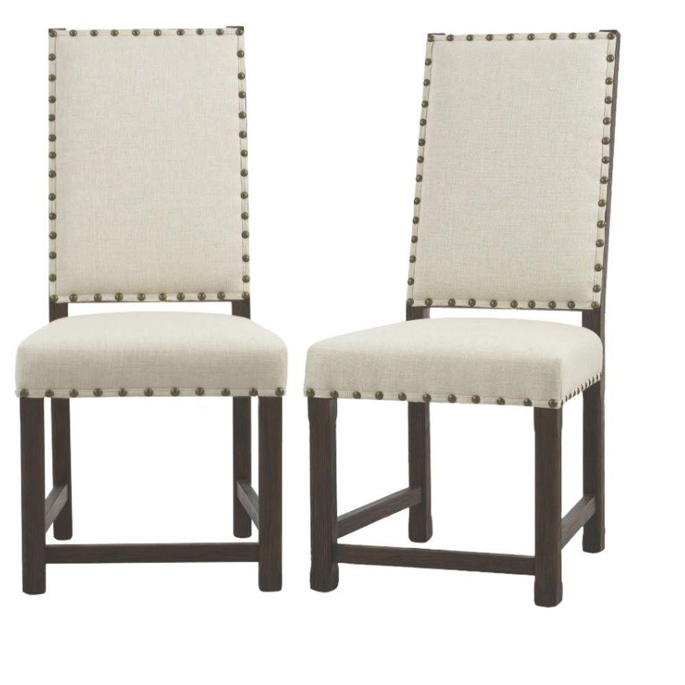 Andrew Antique Walnut Dining Chair (Set of 2)