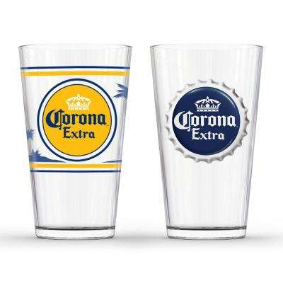 Extra Labels Pub Glass (Set of 2)