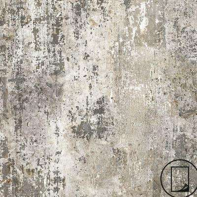 5 ft. x 12 ft. Laminate Sheet in Milk Paint with Virtual Design Antique Finish
