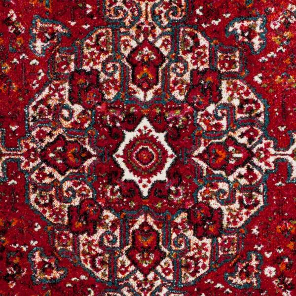 Safavieh-Vintage Hamadan Red/Multi 8 ft. x 10 ft. Area Rug