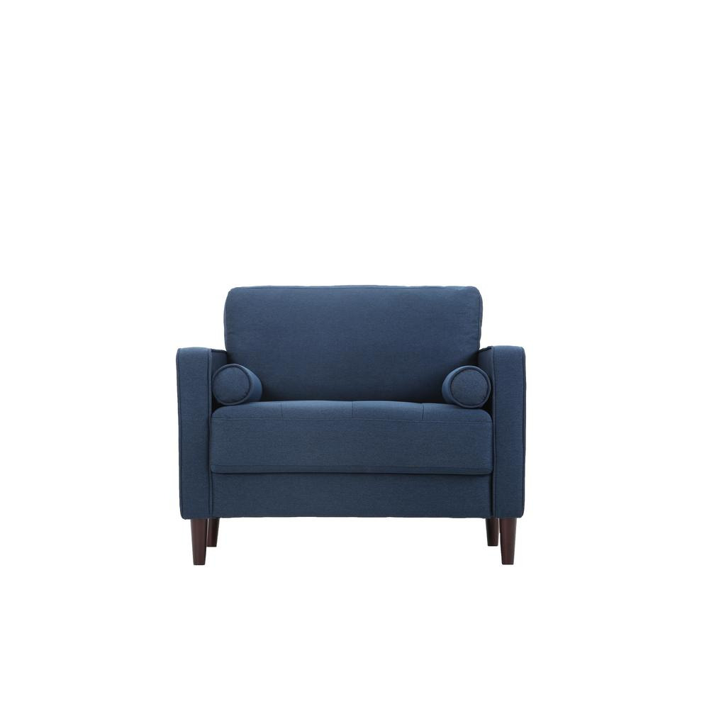 Merveilleux Lifestyle Solutions Lillith Chair In Navy Blue