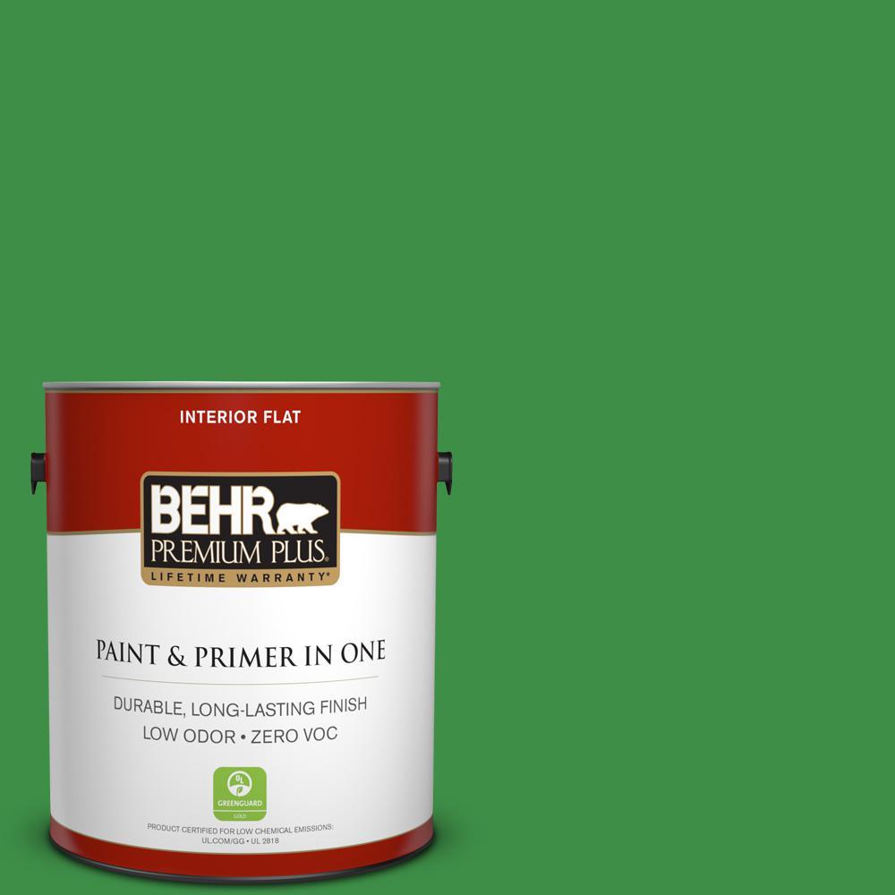 BEHR Premium Plus 1-gal. #P390-7 Park Picnic Flat Interior Paint