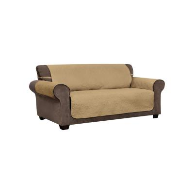Belmont Leaf Secure Fit XL Sofa Toast Furniture Cover Slipcover