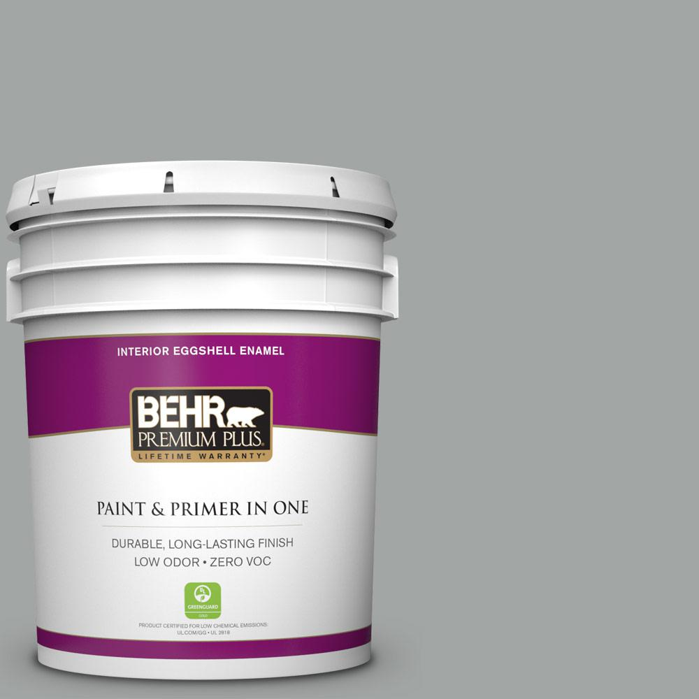 5 gal. #PPU25-16 Chain Reaction Zero VOC Eggshell Enamel Interior Paint