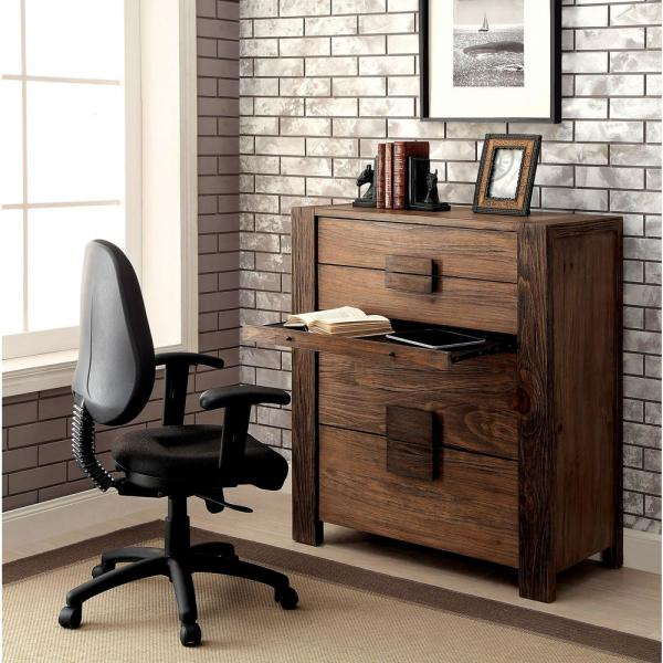 William's Home Furnishing Janeiro Rustic Natural Tone Transitional Style