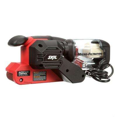 6 Amp Corded Electric 3 in. x 18 in. Belt Sander Kit with Pressure Control