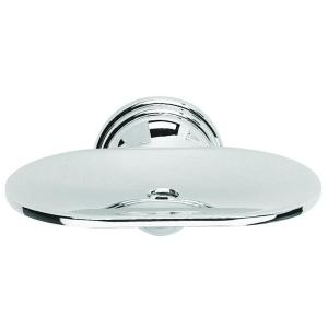 Croydex Westminster Soap Dish in Chrome by Croydex