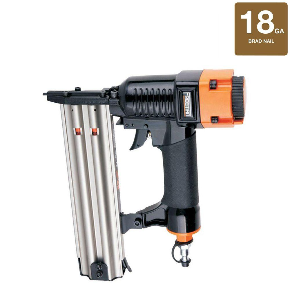 Freeman Pneumatic 18-Gauge Strip Brad Nailer
