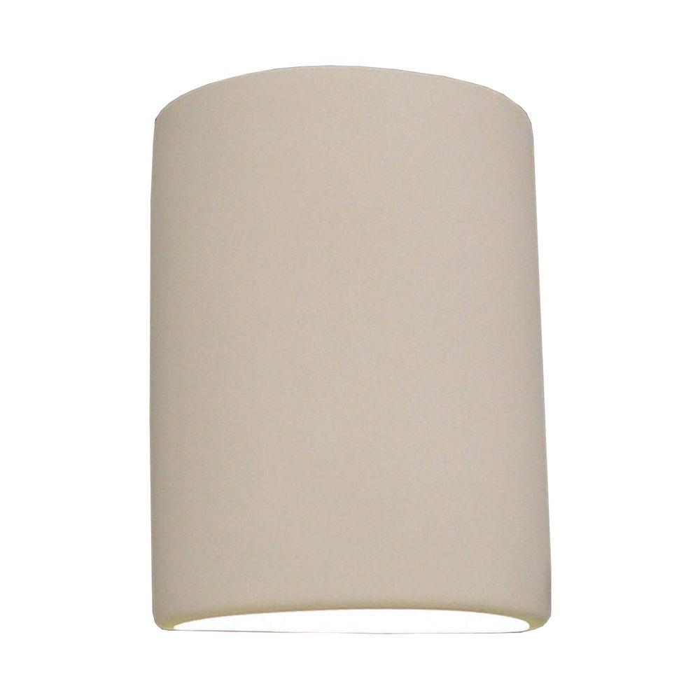 Filament Design Lucy Paintable Bisque Ceramic Outdoor Wall Sconce