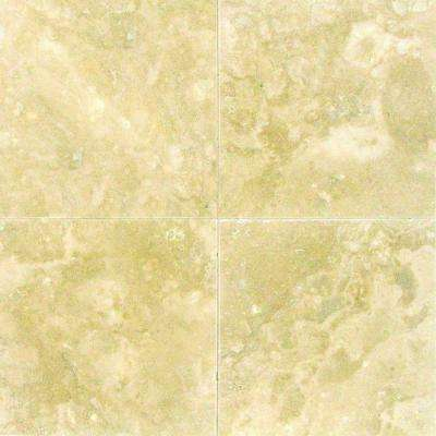 Ivory 6 in. x 6 in. Honed Travertine Floor and Wall Tile (1 sq. ft. / case)